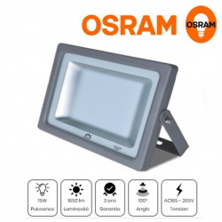 Spot LED Flood Light Ultrafin 15 W Mercury