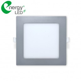 Plafonnier LED Carré Encastrable - 12W